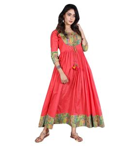 alibaba fashion women wholesale cotton custom made casual dress factory china maxi ladies wear casual Indian designs Dress