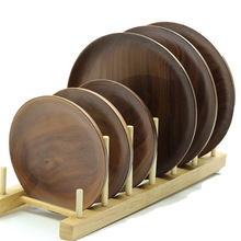 Customized 4 inch to 10 inch Walnut wood <strong>plate</strong>