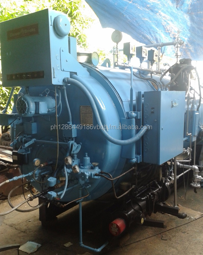 80HP Cleaver Brooks Boiler