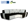 Cheap modern corner sofa bed AGER with sleep function EU quality color, page and material optional