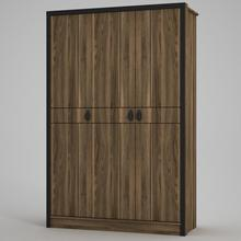 Exclusive Lost Walnut 3 Door Wardrope