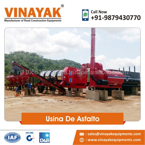 Indian DM-45 asphalt mixing plant supplier,asphalt machinery with factory from indian