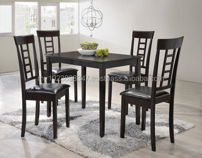 stairs 4 seater dining set