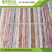 Chindi Durrie Carpet hand made Hand loomed Rag Rug
