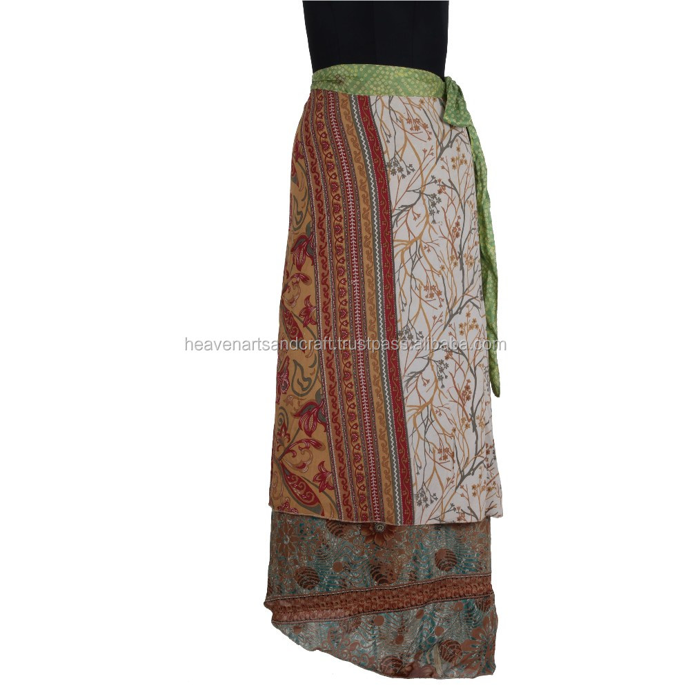 African Traditional Print Wrap Skirt For Fashion Women Wears