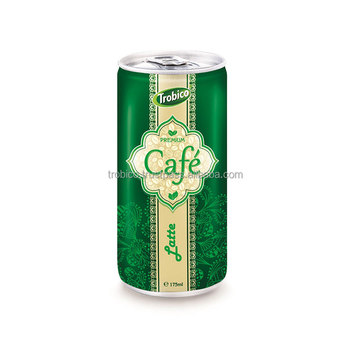 175ml Slim Can Latte Coffee Drink-VietNam Manufacturer-OEM Fruit Juice-From Trobico Brand
