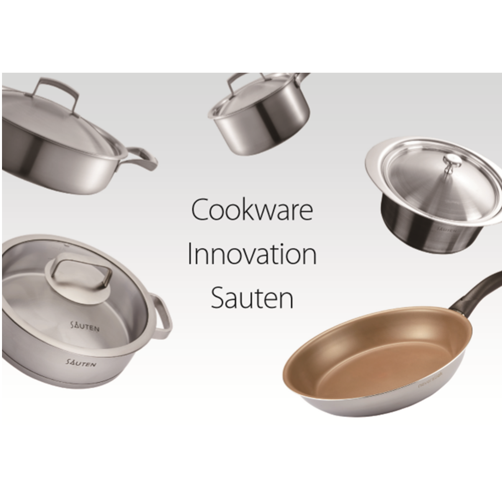 Clad cookware aluminium based stainless 3ply cookeware