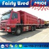 Used Howo 6x4 Dump Car Truck 336HP ZZ2156R3217B For Sale