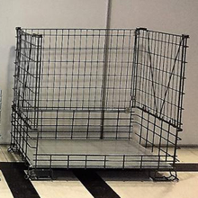 Akay Stand Collapsible, Wire, Mesh, Foldable Pallet Container 100x120