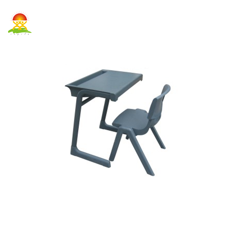 factory price good quality school classroom student study desk and chair