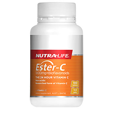 new arrival high quality ESTER-C 1000MG + BIOFLAVONOIDS contains vitamin c