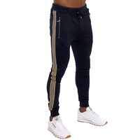 Custom Fitness Mens Joggers Tapered Slim Fit Joggers Sweatpants Tracksuit Pants Cotton Pants 5.01 Reviews