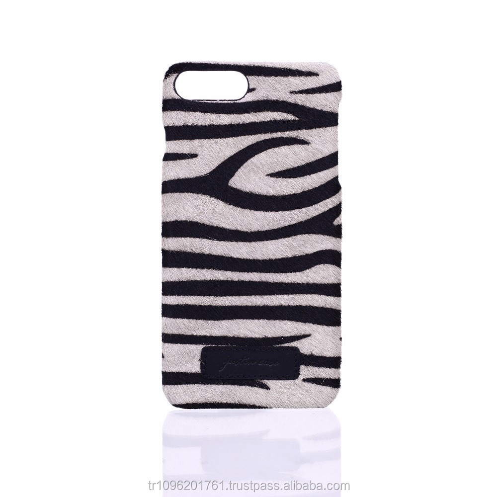 Luxury Zebra Leather Case For Iphone 7/7 Plus