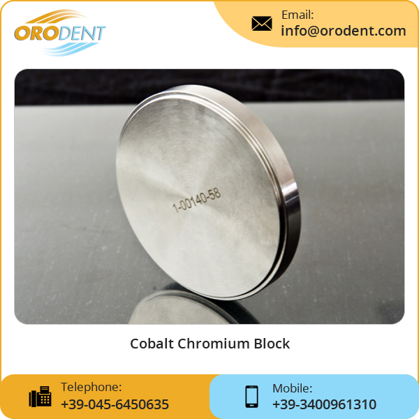 Casting Metal Alloy Dental Cocr, Dental Chrome Cobalt, Cobalt-Chrome Milling Block