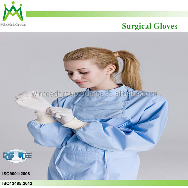 Sterile Surgical Gloves CE FDA Approved
