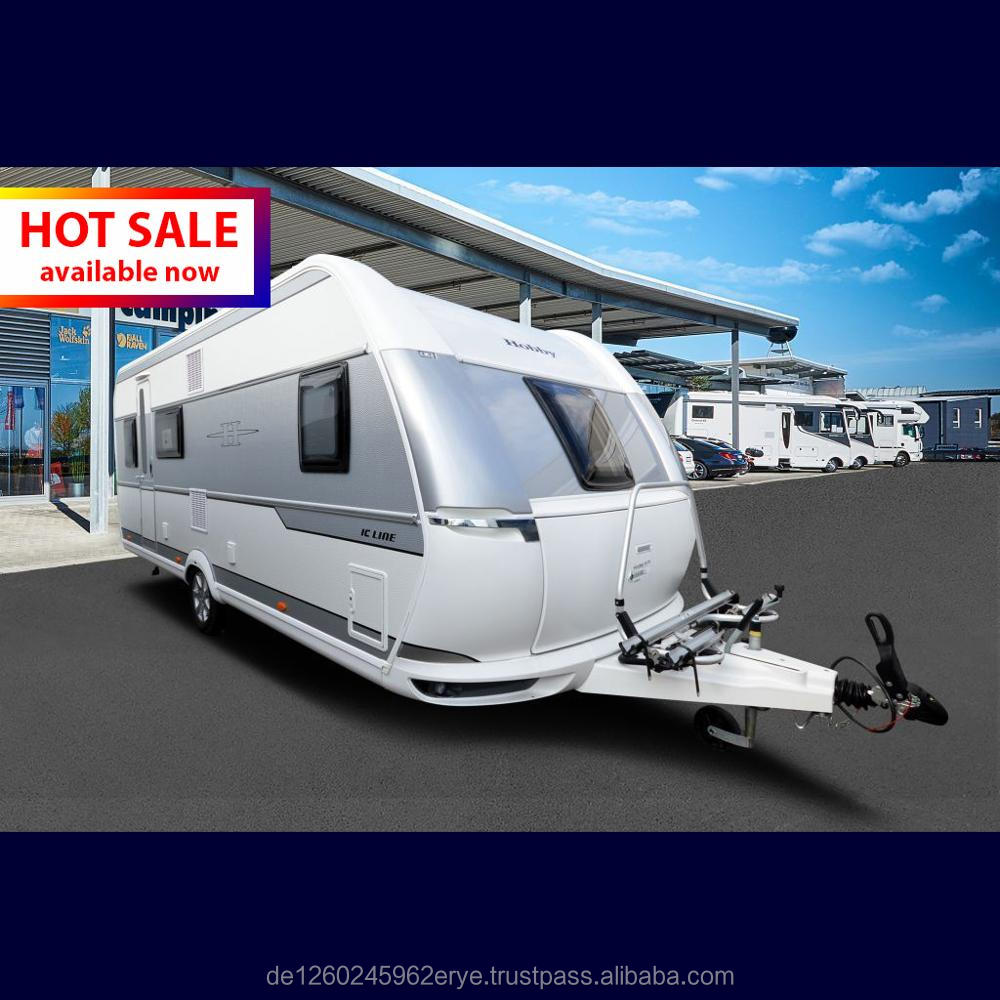 Hot Sale - Hobby DE LUXE EDITION 560 KMFe IC-Line - immediately available, 6 Bed, A/C, Solar, Batteries, 12 volt TV