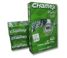 Chamex Purpose Copy Paper A4 80GSM Pulp Office Double A White A4 Copy Paper 80 GSM (210mm X 297mm)
