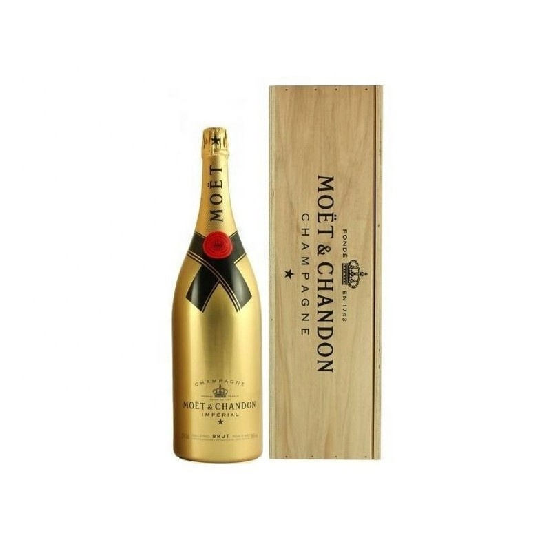 Moet and Chandon and brut sparkling wine