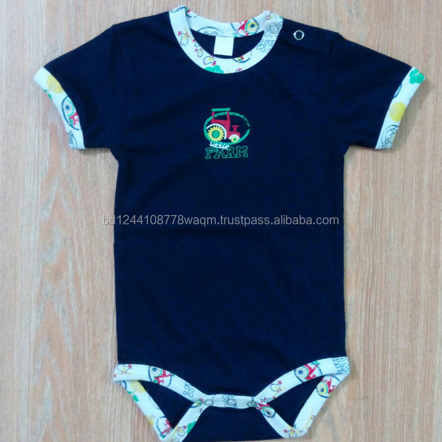 Soft comfortable baby cotton romper
