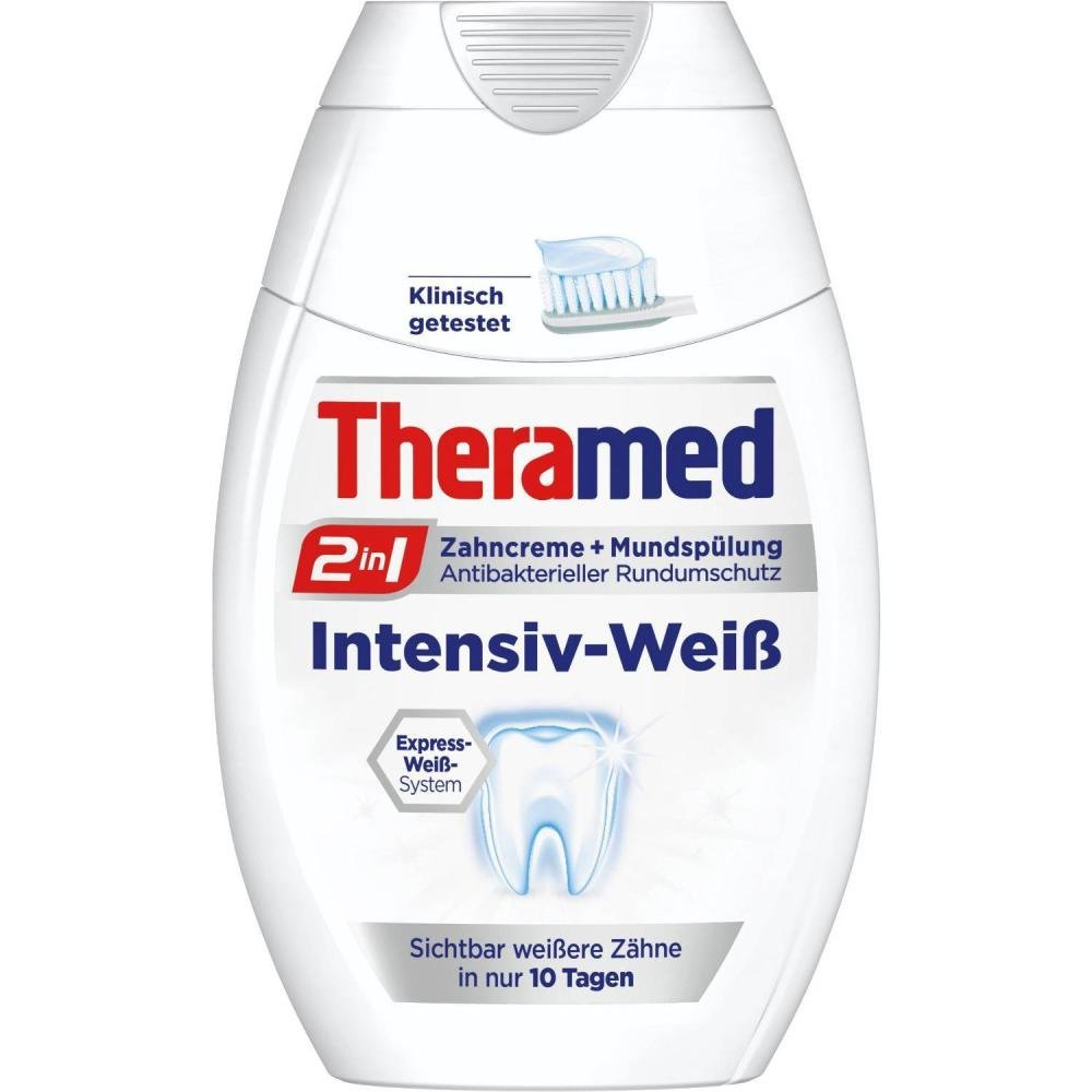 Theramed 2in 1 toothpaste cleaning +oral refreshing 75 ml