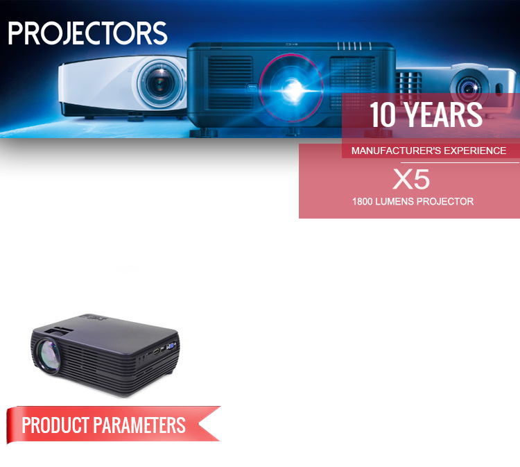 X5 Home Theater LED Projector
