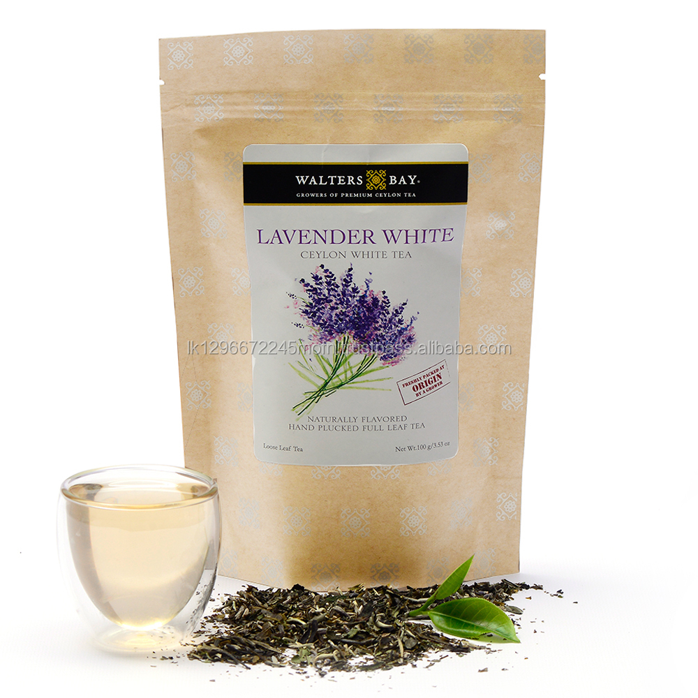 Ceylon White Tea - Lavender White