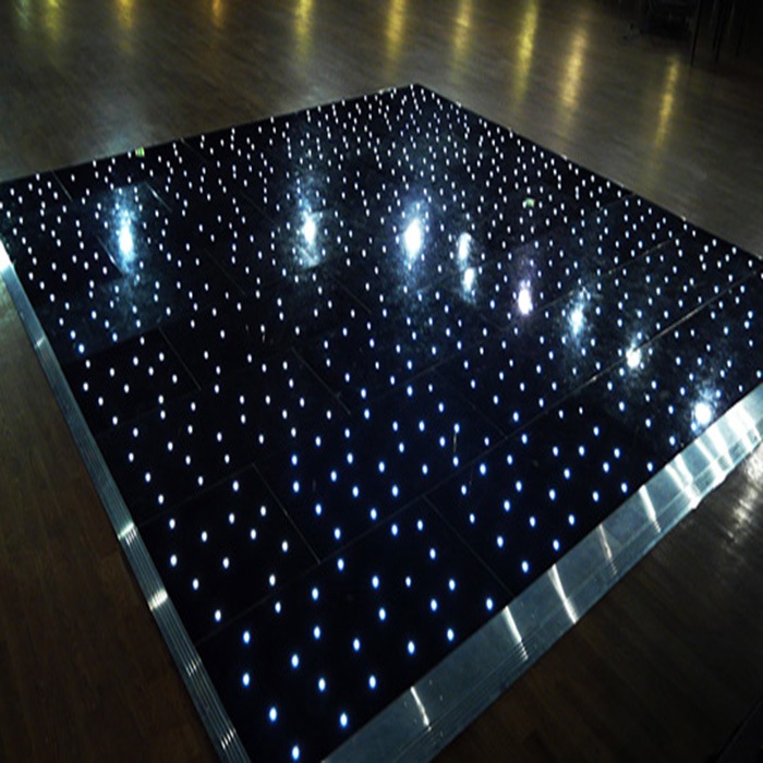 LED Dance floor light with twinkling star effect
