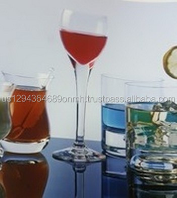 GLASSWARE ULTRA CLEAR GLASS OF WINE MODELS FROM MANUFACTURER