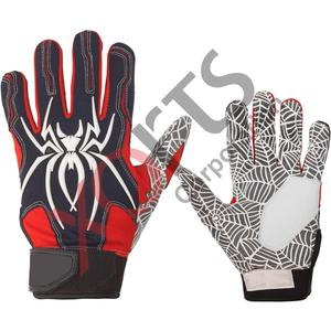New Design Genuine Leather Baseball Batting gloves, Digital Leather Palm baseball batting Gloves