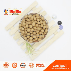 ROASTED PEANUT coated wrapped covered (Tan Tan Vietnam, Jolie 84983587558)