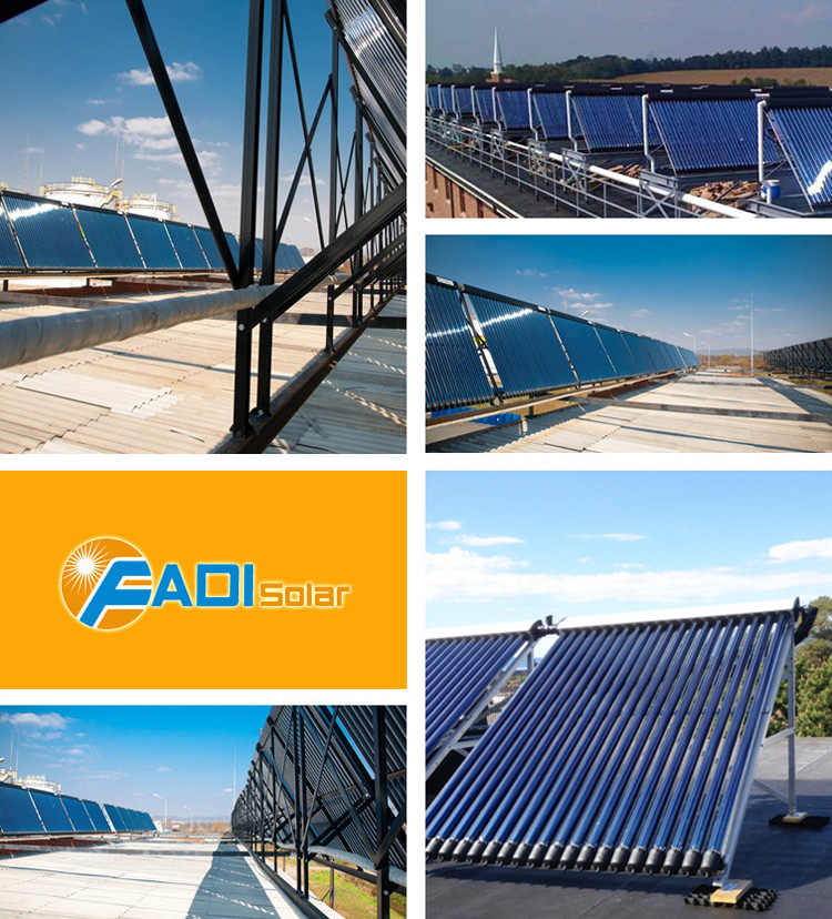 Excellent quality solar heat pipe collector fadi solar collector