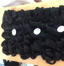 Best quality 18 inch human hair extension weft, wholesale free weave hair packs, Body wave