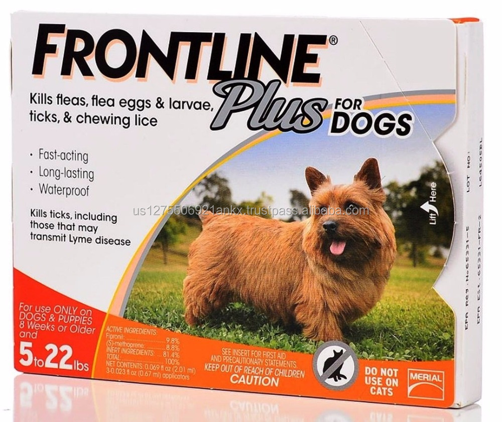 Flea and Tick Control Dogs Puppies Kills Frontline Larvae Eggs Ticks Pet Disease
