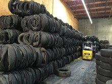 Recycled Rubber Tyres Bales & Shred scrap tyres available