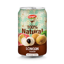 TRUE Softdrink Longan Juice With Cocktail Flavour in can 330ml Fruit juice distributors