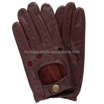 MENS CLASSIC DRIVING GLOVES SOFT GENUINE REAL