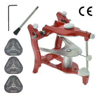 Articulator with 4 mounting Plates CE Approved