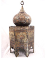 Islamic Antique Reproduction Silver-Inlaid Incense Burner