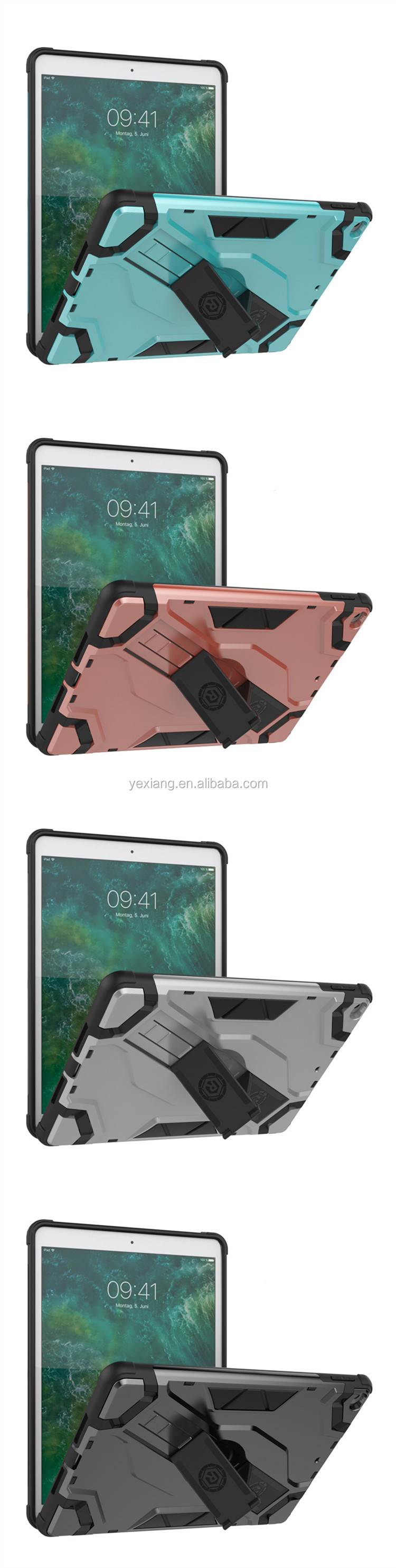 Rugged Shockproof Hard Plastic Cover For Samsung Galaxy TAB A 8.0 T350,Tablet Cover With Stand