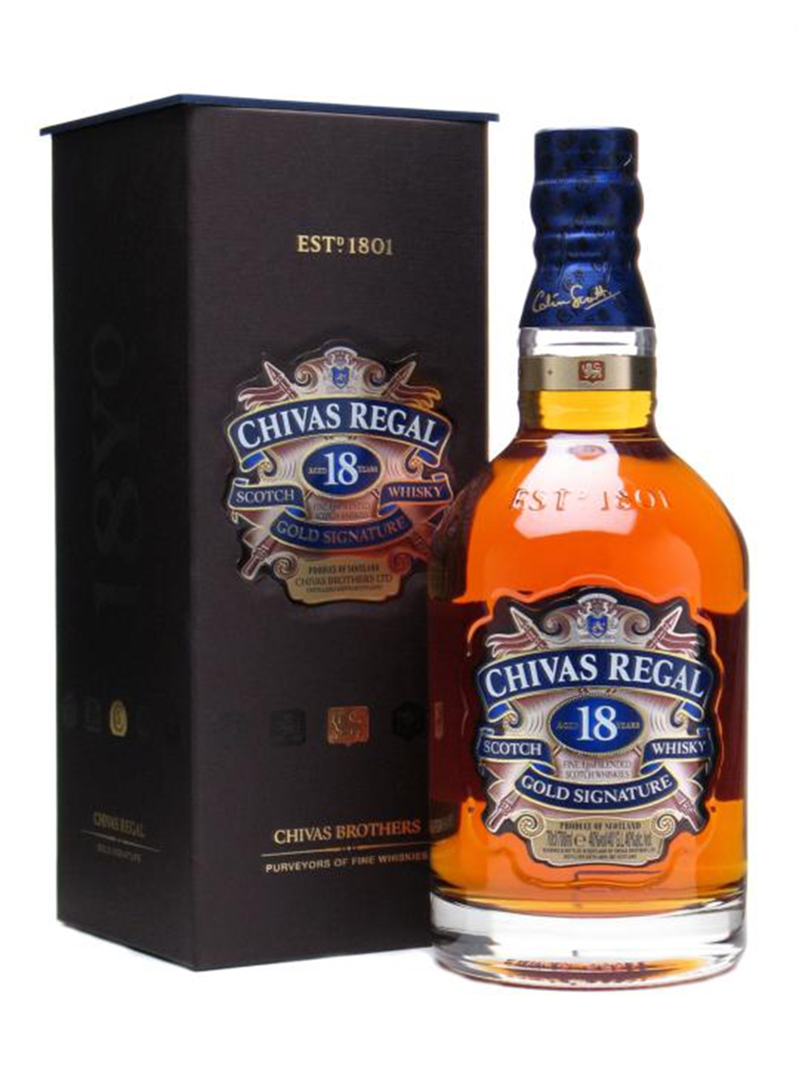 Chivas Regal 18 Years Whisky 70cl