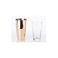Customized 2 Pieces Stainless Steel Copper Boston Bar Shaker Supplier India