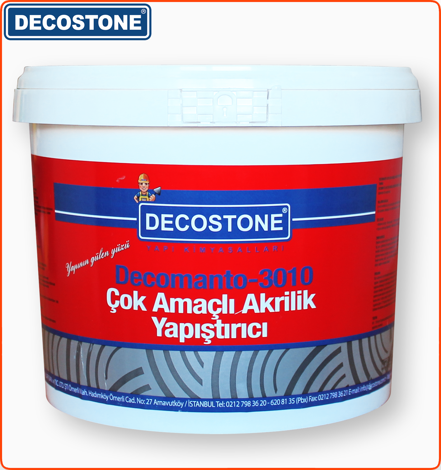 Multi Purpose Acrylic Tile Adhesive for Bonding Ceramic Tiles 5kg bucket