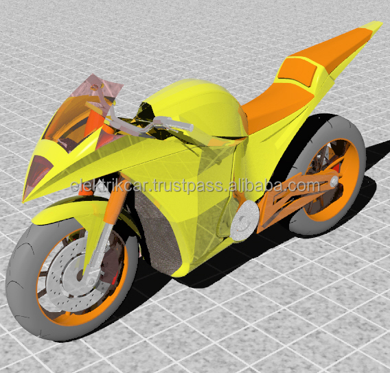 Murai Electric Motorcycle/Bike (Concept by ElektrikCar ready for Production & Sales)