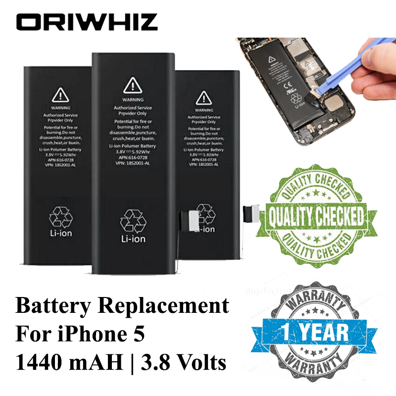 Oriwhiz New Replacement Battery for Mobile Phone Use