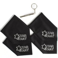 STARTOWEL Premium Microfiber Glass, Window, Mirror, Screen Cloth 18x18cm , No Lint , Made in Korea quality products