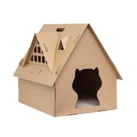 Collapsible Folding Wooden Dog Cat Pet House For Small Animals