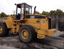 used construction machinery 20 tons front loader CAT 966E wheel loader