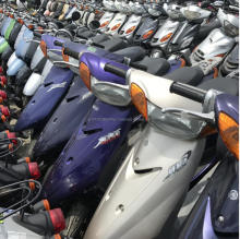 Used Japanese scooters for sales high quality