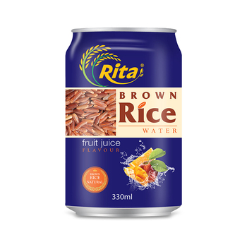 Good taste with Fruit Flavor Brown Rice Drink