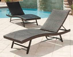 Leisure Plastic Rattan Aluminum Pool Lounge Chairs, Lounger Chair